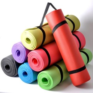 Durable Non-Slip Yoga Mat with Rope01