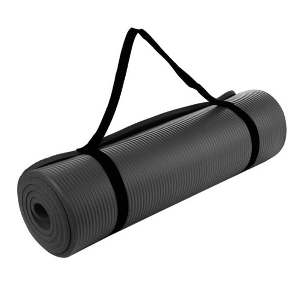 Durable Non-Slip Yoga Mat with Rope02