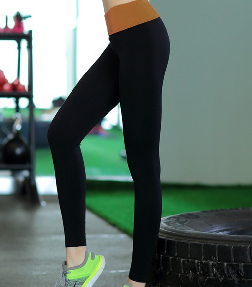 Elegant and Quick Dry High Waist Yoga Leggings01