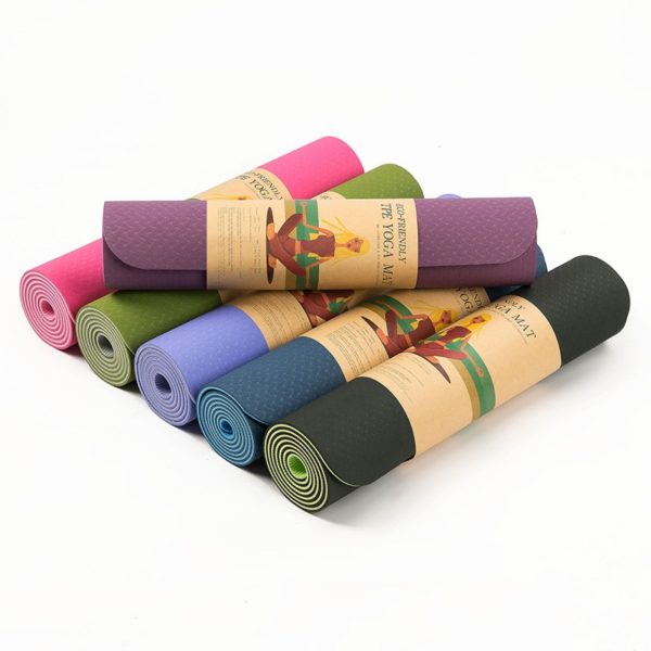 Extra Thick Anti-Slip and Anti-Tear Yoga Mat01