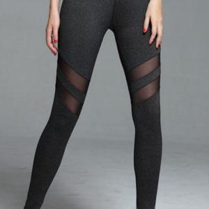 Fashionable Mesh Yoga Leggings02