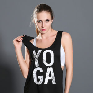 Fetching Top with Yoga Print01