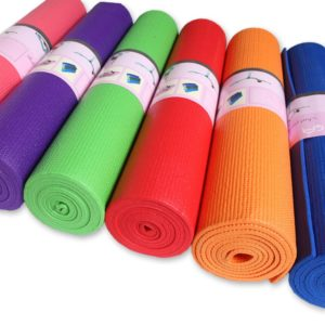 Latex Free and Non-Slip Yoga Mat with Strap01