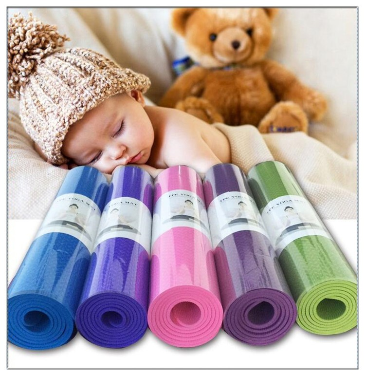 Long-Lasting Non-Slip Yoga Mat for Beginners01