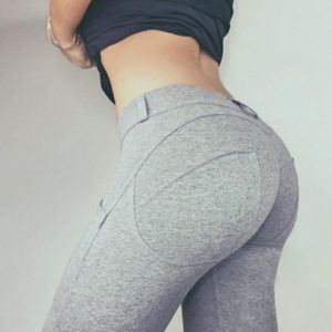 Sexy Yoga Pants with Elastic Waist01