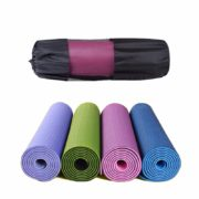 Single Layer Yoga Mat with Bag and Rope01