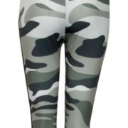 Trendy Camo Yoga Leggings with Mesh Panels01