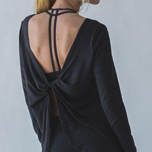 Trendy Long Sleeved Yoga Top01