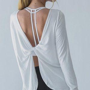 Trendy Long Sleeved Yoga Top03